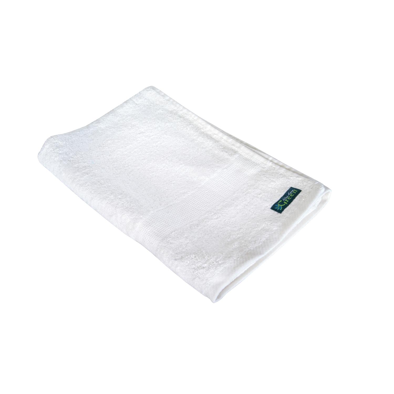 Swol Fitness Bamboo Towel: Bamboo Bath Towel, Peony White