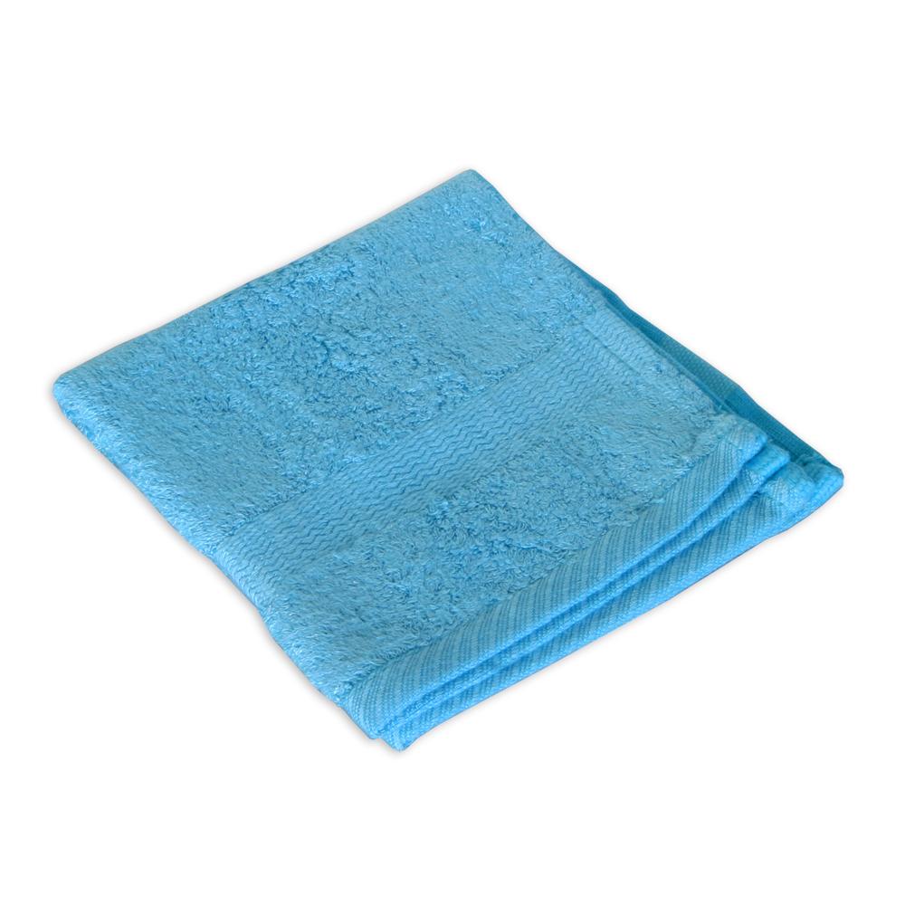 Bamboo Wash Towel Coastal Blue